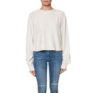 Allsaints Ivory Navarre Sweatshirt Small